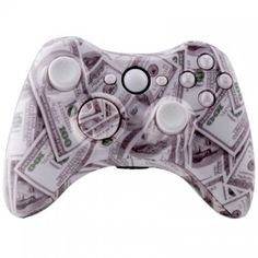 Another sick modded controller,   http://www.yourmoddedcontrollers.com/product/cash-money-xbox-360-modded-controller-35-mode-cod-advanced-warfare-black-ops-2-cod-mw3-drop-shot-jump-shot-quick-scope-auto-aim/  #moddedcontrollerxbox 360 #moddedxboxcontroller #360Modded