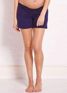 acd9780d70de1 Perfect shorts for a #summerpregnancy $37.95 #stylishmaternity  #maternityfashion Summer Maternity Fashion, Stylish
