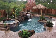 Image result for backyard landscaping ideas with balinese water features