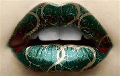 How to - Link zu Lippen Make-up . - How to – Link zu Lippen Make-up … - Crazy Lipstick, Lipstick Art, Lipstick Colors, Lip Colors, Lipsticks, Colours, Lipstick Shades, Lipstick Designs, Lip Designs