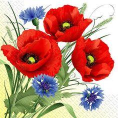 Art Floral, Watercolor Illustration, Watercolor Art, Flowery Wallpaper, Poppies Tattoo, Photo To Art, Ukrainian Art, Christmas Drawing, China Painting