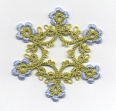 Mille-Fleurs TATTING PATTERN with variations