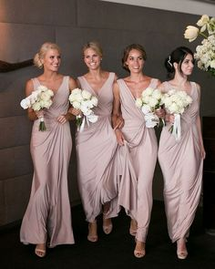 Bridesmaid dresses. Decide on a most suitable bridesmaid dress for your wedding. You need to consider the dresses that would flatter your bridesmaids, at the same time, match your wedding ceremony theme.