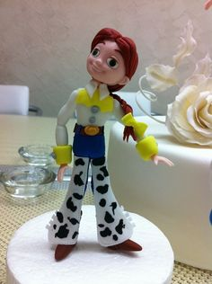 Jessie from toy story cake | My doll was made in Monica Mu?ante class.