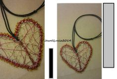 Happy Valentine Day 2014: My Large Wire Heart Pendant
