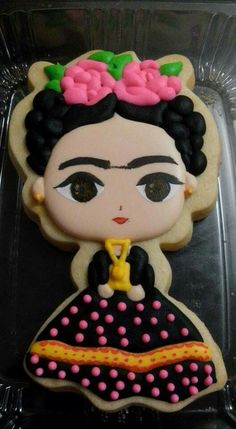 Frida Kahlo Cookie