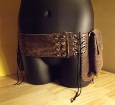 steampunk. Belt.