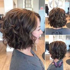 Leaving Facebook  <br> Short Curly Hairstyles For Women, Curly Hair Styles, Thick Curly Hair, Curly Bob Hairstyles, Curly Short, Hairstyles 2018, Vintage Hairstyles, Wedding Hairstyles, Fringe Bob Haircut