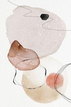 Watercolor Circles, Abstract Watercolor Art, Watercolor Animals, Watercolor Background, Watercolor Paintings, Simple Watercolor, Tattoo Watercolor, Watercolor Trees, Watercolor Landscape