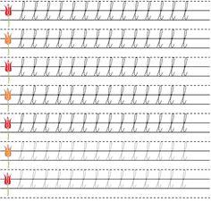 Skill Development Through Handwriting Alphabet Writing Practice, Handwriting Practice Sheets, Learn Handwriting, Cursive Handwriting, Handwriting Analysis, Learning Letters, Start Writing, Writing Tips, English Cursive Writing