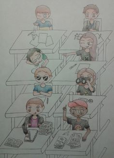 Smosh Games Class by ChemistryMuse