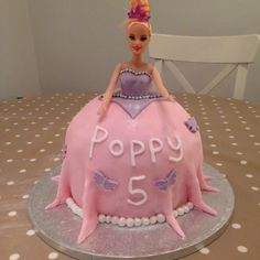 Mummies homemade Barbie Dolly Cake Barbie, Homemade, Cakes, Christmas Ornaments, Holiday Decor, Desserts, Food, Tailgate Desserts, Deserts