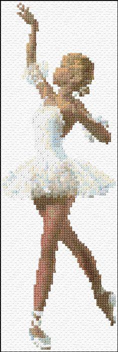 Cross Stitch | Ballerina xstitch Chart | Design