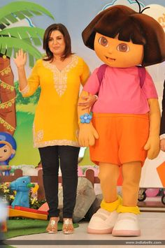Farah khan launch new channel nick jr