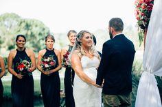 Real Wedding at Babalou Kingscliff featured on Casuarina Weddings blog! #bride #groom #bridesmaids #flowers #weddingceremony #outdoorwedding