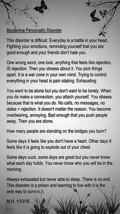 """I've never read anything that describes just how accurately I feel as this. """"My minds a mess"""" SFM X"""