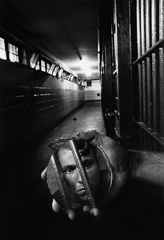 Breaking Into Prison -  A prisoner in solitary confinement, Alabama August 1979 - Sean Kernan