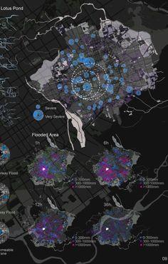 问题表达 #ClippedOnIssuu from PORTFOLIO FOR GSD MLA1 City Layout, Urban Design, Maps, Presentation, Diagram, Graphics, Digital, Dioramas, Urban