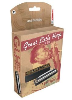 HOHNER 570BX-C Harmonica by HOHNER HARMONICA. $12.50. Hohner Great Little Harp Harmomica, Key of C