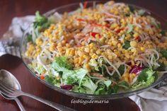 Ensalada china vegetal
