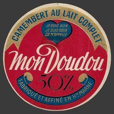 mon Doudou - camembert au lait complet - 50% - Fabriqué et affiné en Haute-Marne