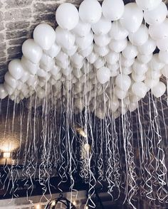 Shared by Find images and videos about white, party and birthday on We Heart It - the app to get lost in what you love. White Party Decorations, Birthday Party Decorations, Party Themes, Birthday Parties, Wedding Decorations, Ideas Party, 21st Birthday, Party Fun, 21st Decorations