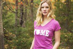 New Brunswick HOME V-Neck Slim Fit T-Shirt, www.myhomeapparel.com