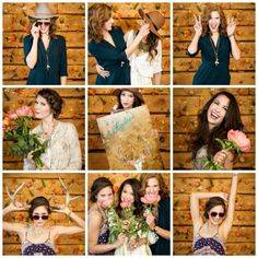 A floral wall photo booth backdrop is such a cool idea for a bachelorette. Design and planning by Banff wedding planner Naturally Chic. Chic Wedding, Wedding Blog, Wedding Planner, Willow Flower, Photo Booth Backdrop, Floral Wall, Banff, Rocky Mountains, Backdrops