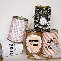 Wedding Cans - die Dosen sind wieder da! - Hochzeitsblog Lieschen heiratet