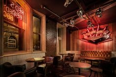 Reds True BBQ from concept to completion with Dawnvale, nominated for The Restaurant and Bar Design Awards