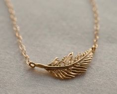 Light, dainty necklace for everyday.  Very chic when worn just at the hollow of the throat.