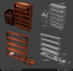 LOWPOLY (sub 1000~ triangle models) - Page 453 - Polycount Forum