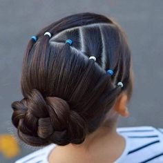 teenage hairstyles for school Shorts Teenage Hairstyles For School, Lil Girl Hairstyles, Prom Hairstyles For Short Hair, Hairstyles Haircuts, Braided Hairstyles, Cool Hairstyles, Ballet Hairstyles, Kids Hairstyle, Cute Hairstyles For Kids