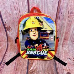 Fireman Sam Kids Rucksack backpack Sam To The Rescue school nursery present bag Fireman Sam, Rucksack Backpack, Kids Bags, Bag Sale, Nursery, Backpacks, Best Deals, Ebay, Baby Room