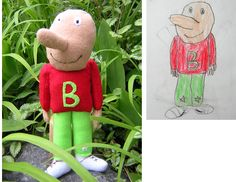 Child's Own Studio- takes your child's drawing and makes a stuffed likeness out of it. Get out of here!