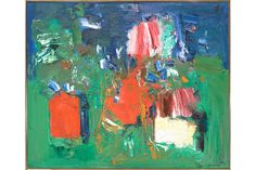 Hans Hofmann: Summer Bliss, 1960; oil on canvas; 60-1/8 x 72-1/4 in  More Information: http://artdaily.com/news/71858/-Hofmann-by-Hofmann--on-view-at-the-Berkeley-Art-Museum---Pacific-Film-Archive#.U9u5r_ldXWg[/url] Copyright © artdaily.org