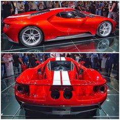Ford GT in red..