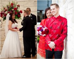 Cindy & Stephen's Traditional wedding with gorg Chinese elements! Photo by Sharon Nicole Photography.