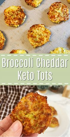 Keto broccoli cheddar tots and the tot you've been craving! Easy to make and you'll want to eat them all. Keto broccoli cheddar tots and the tot you've been craving! Easy to make and you'll want to eat them all. Keto broccoli cheddar tots and the tot Healthy Dinner Recipes For Weight Loss, Healthy Diet Recipes, Ketogenic Recipes, Keto Snacks, Recipes Dinner, Keto Veggie Recipes, Dessert Recipes, Vegetarian Keto, Brocolli Recipes