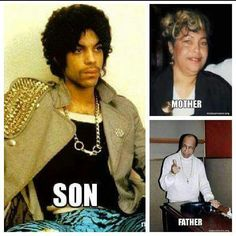 Prince and his parents