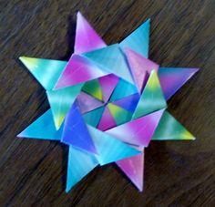 Open 8 Point Star 7