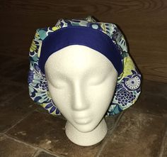Scrub Hats-Surgical Scrub Cap-Bouffant-Embroidered-Personalized