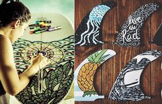 Time To Draw And Paint | How To Make Your Own Amazing Custom Design Surfboard