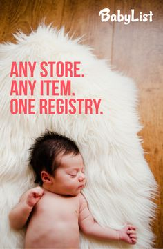 An amazing baby registry site that give you the freedom to add the gifts you want, with creative inspiration and tons of useful info!