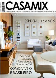 A equipe da revista Casa Mix comemora amanhã (25), no showroom da Ornare, os 12 anos da publicação.