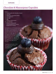 choco mascarpone cupcakes....