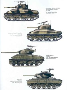 Sherman M4A variants