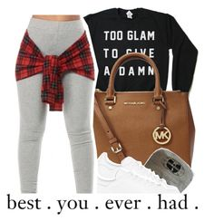 """@sunnyhere7111"" by dopest-queens ❤ liked on Polyvore featuring Michael Kors and adidas Originals"