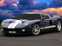 One of the most inspiring and famous cars from the Ford Auto manufacturers, Ford GT was a real on road performer. The car was produced in the years 2004 and 2005 in limited numbers. Till date Ford GT is a stiff competition for the legendary car ma. Bugatti, Maserati, Porsche, Audi, Bmw, Ferrari, Lamborghini, Ford Sports Cars, Sport Cars