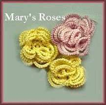 Mary's Roses pattern  http://suzann-does-it-all.com/tatting/patterns/marys-roses